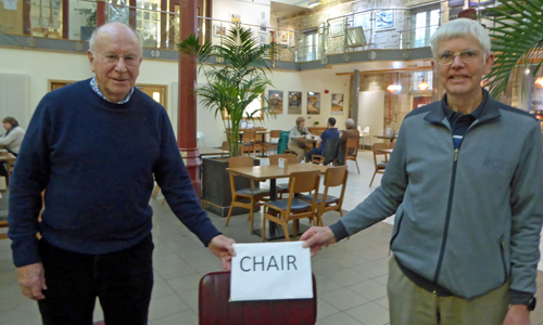Welcome New Chair at AGM